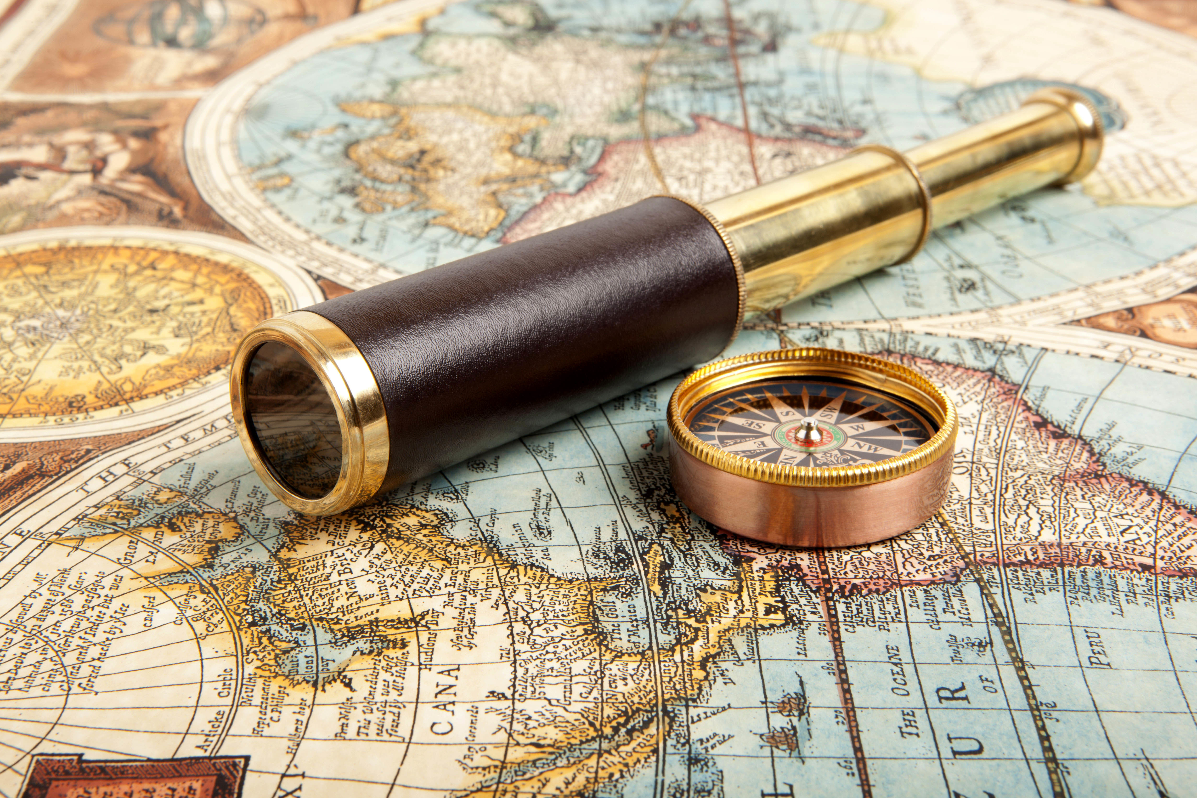 A Business Plan = Map, Compass and Telescope